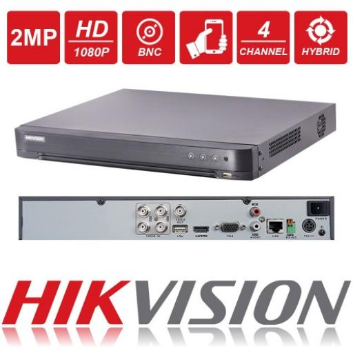 Hikvision 2MP 4 Channel DVR