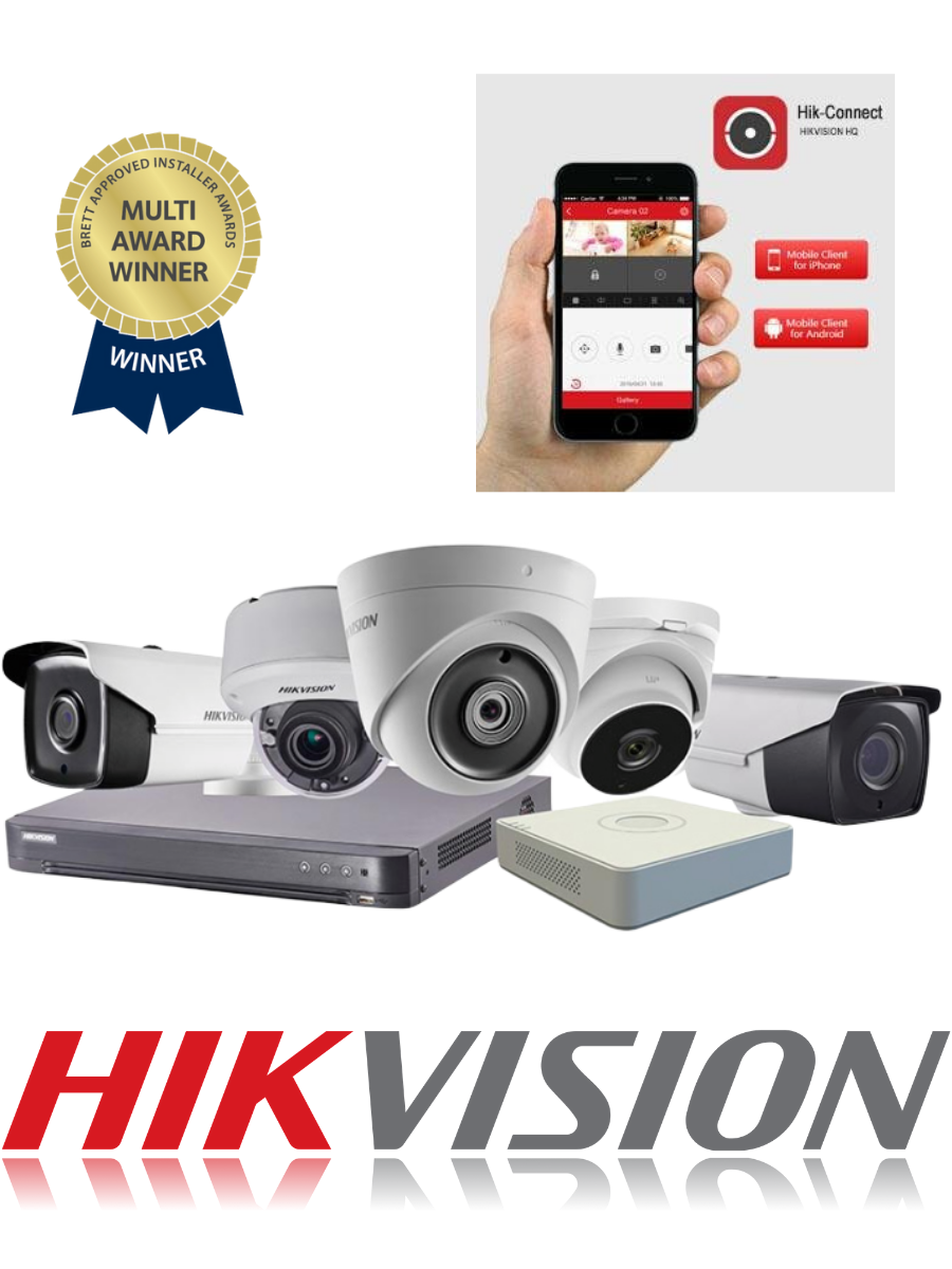 hikvision cctv installers in grimsby