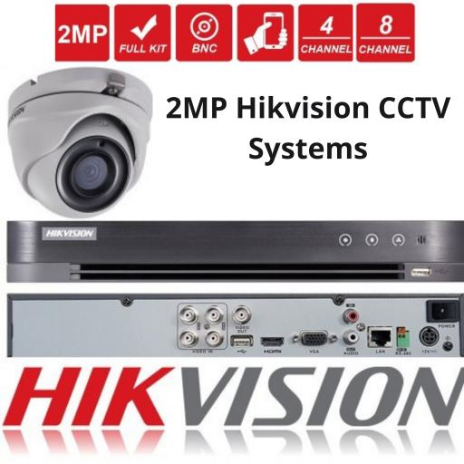2MP Hikvision CCTV Systems