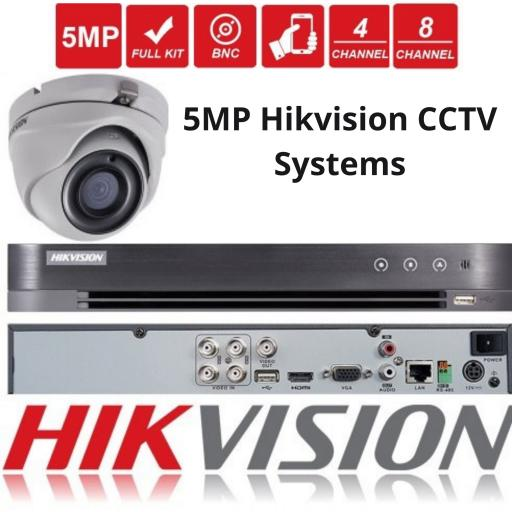 5MP Hikvision CCTV Systems